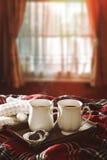 Bevande del cioccolato caldo Fotografia Stock