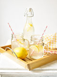 Bevande del limone Fotografie Stock Libere da Diritti