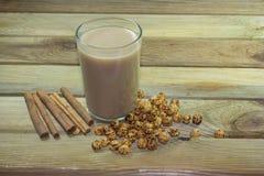 Bevande deliziose calde a Boza Fotografia Stock