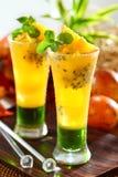 Bevande della passiflora commestibile Fotografie Stock Libere da Diritti