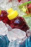 Bevande di energia di sport su ghiaccio immagini stock