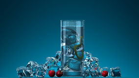 Bevande di freddo di estate Fotografia Stock