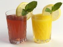 Bevande di frutta Immagine Stock Libera da Diritti