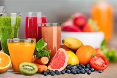 Bevande di frutta Fotografia Stock