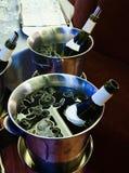 Bevande di raffreddamento Fotografia Stock