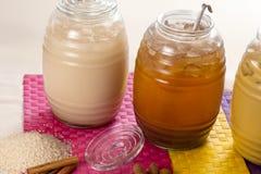 Bevande di sapore naturale immagini stock