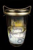 bevara för pengar Arkivbilder