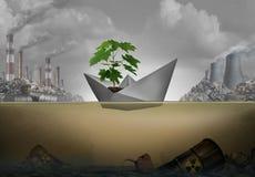 Bevara miljön royaltyfri illustrationer