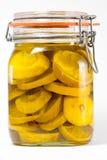 bevarade citroner Fotografering för Bildbyråer