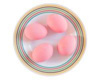 bevarat ägg arkivfoto