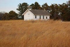 Bevarat hus för landsskola arkivfoto