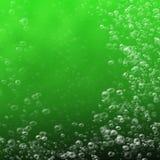 Bevattna bubblar royaltyfri illustrationer