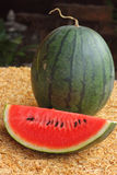 Bevattna melonen Royaltyfria Foton