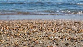 Bevattna och sand Royaltyfri Foto