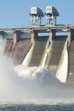 Vattenkraft posterar royaltyfri bild