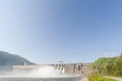 Vattenkraft posterar arkivbild