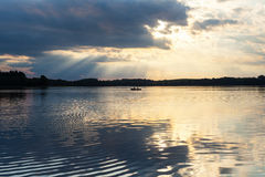 Bevattna reflexioner Fotografering för Bildbyråer