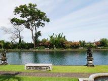 Bevattna slotten i Bali, Ujung, Karangasem Arkivfoto