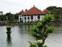 Bevattna slotten i Bali, Ujung, Karangasem Royaltyfria Bilder