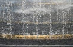 Bevattna springbrunnen Arkivbilder
