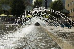 Bevattna springbrunnen Royaltyfri Bild