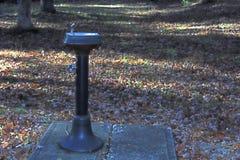 Bevattna springbrunnen Fotografering för Bildbyråer