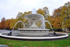Bevattna springbrunnen Royaltyfri Fotografi