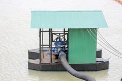 Bevattning som pumpar rörsystemet Arkivbilder