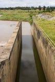 Bevattningkanal Royaltyfri Fotografi