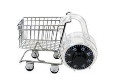 Beveilig het Winkelen royalty-vrije stock afbeelding
