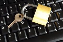 Beveilig online bankwezen royalty-vrije stock foto's