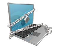 Beveilig uw Computer Royalty-vrije Stock Foto's