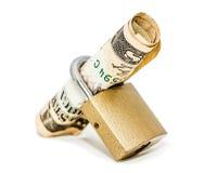 Beveiligd geld Stock Fotografie