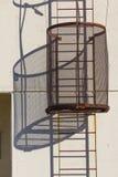 Beveiligd ladderdetail Stock Foto