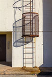 Beveiligde ladder Royalty-vrije Stock Fotografie