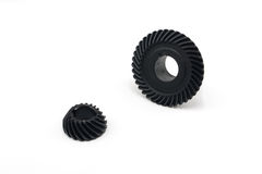 Bevel Gear. With white background royalty free stock images