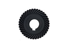 Bevel gear. With white background stock images