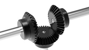 Bevel gears Stock Image