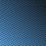 Bevel spots on blue royalty free illustration