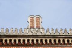 Bevel tien op de Synagoge van Boedapest Royalty-vrije Stock Foto's