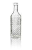 Beveled cherry brandy bottle Stock Photography