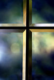 Beveled Cross Royalty Free Stock Photo