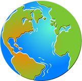 Bevelled Globe Stock Images