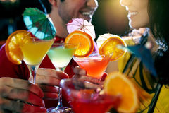 Bevendo al partito Immagine Stock Libera da Diritti