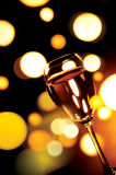 Beverage. Wine glass with celebration background Royalty Free Stock Photography