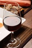 Beverage. Glass of red wine beverage Royalty Free Stock Image