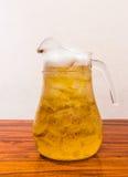 Beverage beer. Drink beer in a jug Stock Image