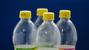 Beverage bottles Stock Images