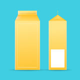 Beverage Box Container Background Stock Photo
