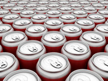 Beverage in can Royalty Free Stock Photo
